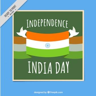 Indien unabhängigkeit tageskarte