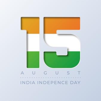 Indien unabhängigkeitstag 15. august