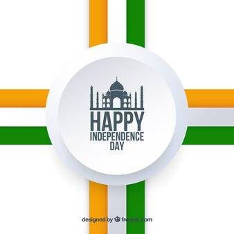 Indien-unabhängigkeitstag mit eleganter art