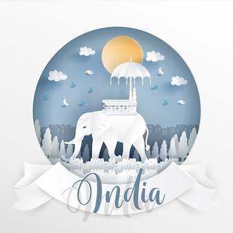Indien wahrzeichen
