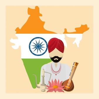 Indienreise und kultur