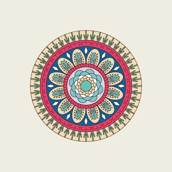 Indische bunte mandala