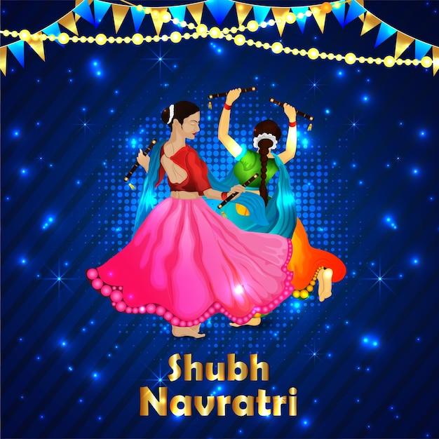 Indische feiertagsgrußillustration