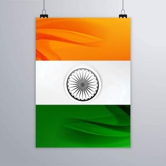 Indische flagge vorlage