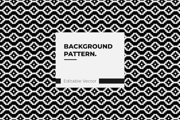 Indischer abstrakter vektor der muster-stammesdekoration
