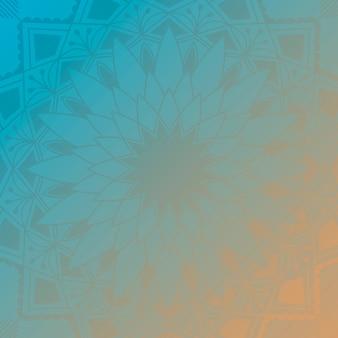 Indischer mandala-hintergrund