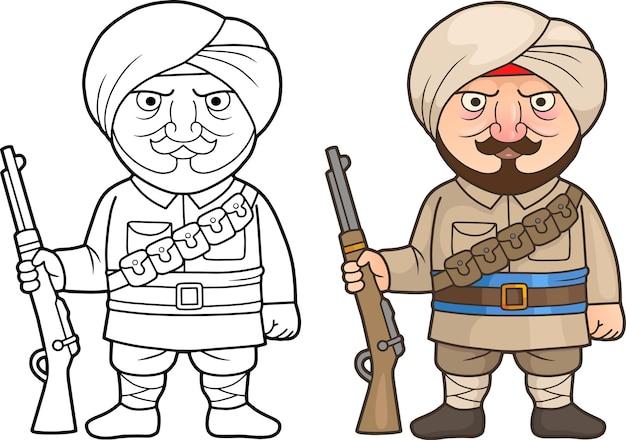 Indischer soldat