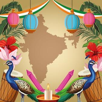 Indischer tourismus und reisen
