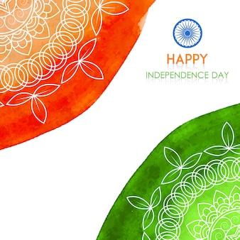 Indischer unabhängigkeitstag-hintergrund