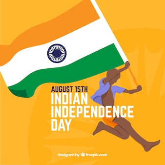 Indischer unabhängigkeitstag hintergrund