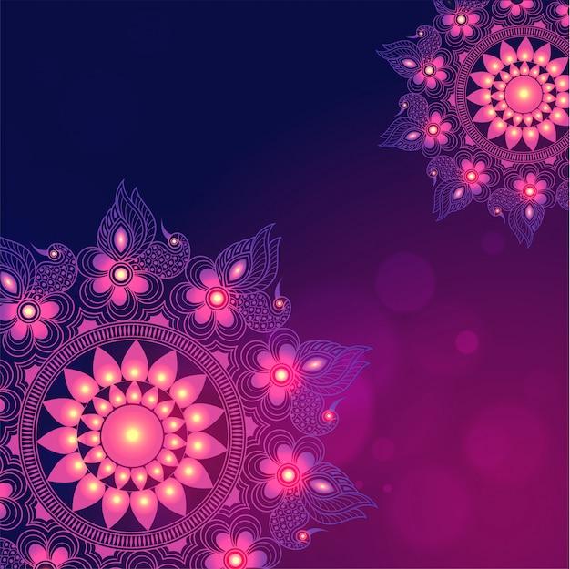 Indisches festival, glückliches diwali-konzept.