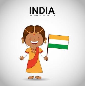 Indisches kind