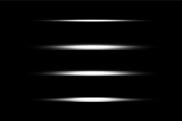Individuelles lens flare pack-design