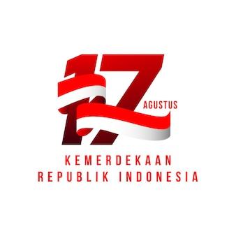 Indonesien unabhängiger tag