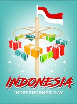 Indonesien unabhängigkeitstag feier