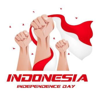 Indonesien unabhängigkeitstag