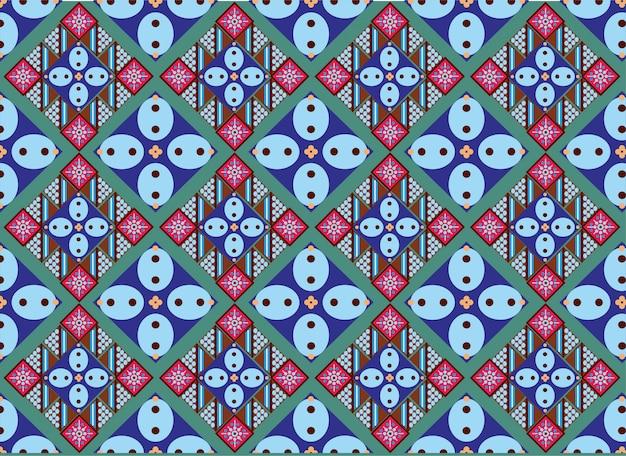 Indonesisches batikmotiv