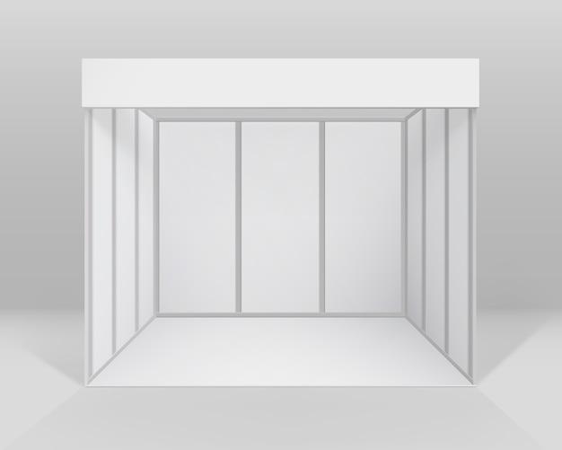 Indoor trade ausstellung stand standard stand für präsentation