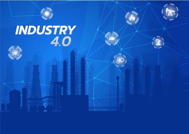 Industrie 4.0 konzept bild