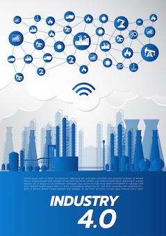 Industrie 4.0-konzept