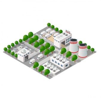 Industriell gefertigte stadt