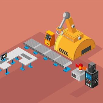 Industrielle fabrikausrüstung