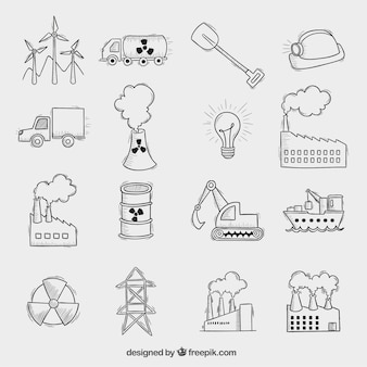 Industrielle symbole