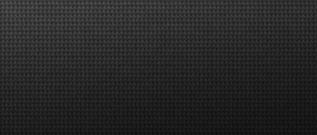 Industrieller schwarzer quadratischer maßwerkhintergrund. monochrome texturen auf blech mit dekorativem minimalismus und abstraktem ornament
