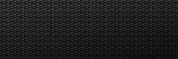 Industrielles maßwerk schwarzer reifenhintergrund. geometrischer schnitt in minimalistischem dekor mit monochromem farbverlauf und design