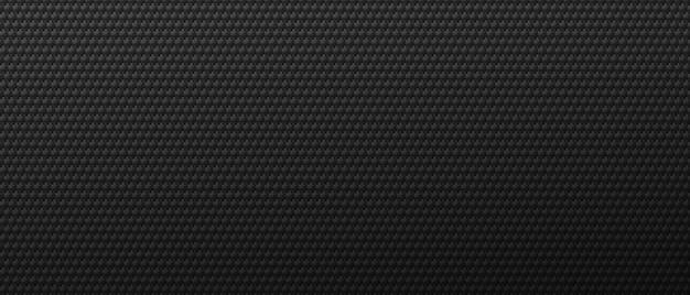 Industrielles quadratisches muster auf metallhintergrund. schwarzes abstraktionsmaßwerk, das im dekorativen stil in einer linie geneigt läuft