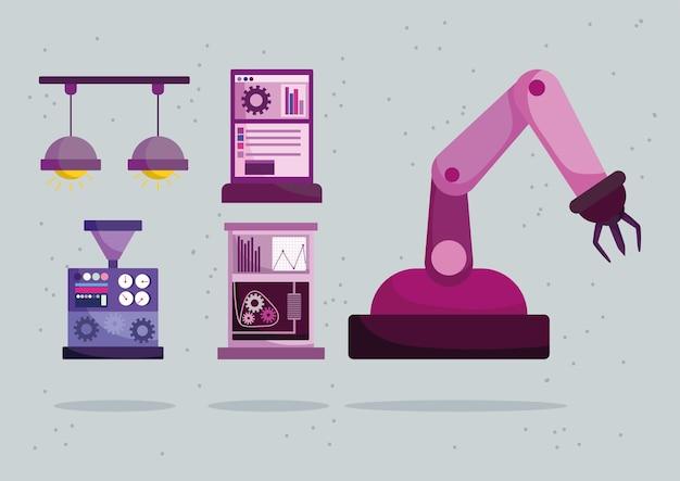 Industrierobotermaschinen