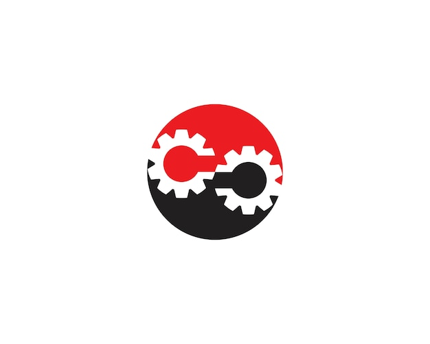 Infinity gear logo-vorlage