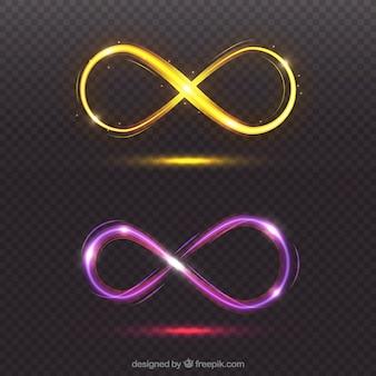 Infinity-linseneffekt-symbol