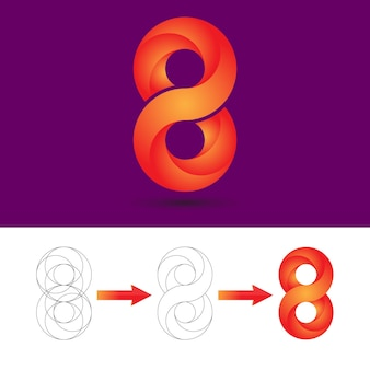 Infinity logo design