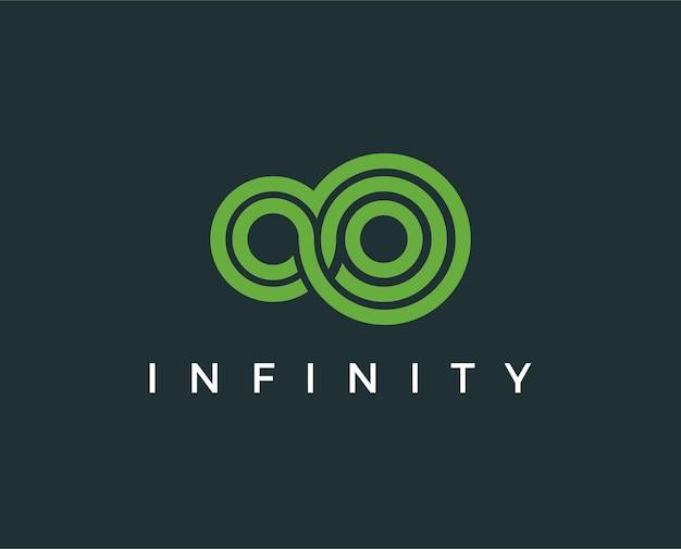 Infinity-symbol mit farbverlauf