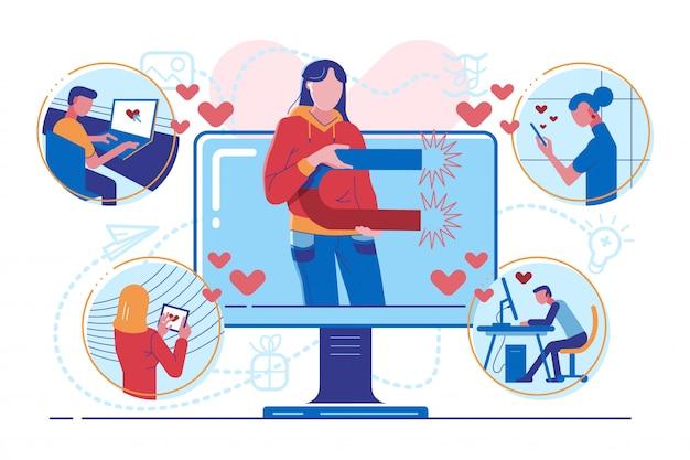 Influencer marketing für follower attraktion
