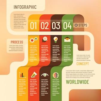 Info grafischer hintergrund