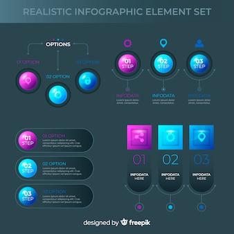 Infografic elementsammlung