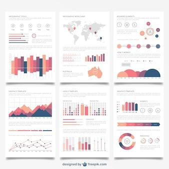 Infografik-broschüren