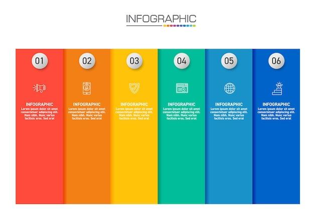 Infografik-design 4 schritte mit marketingsymbolen können für workflow-layout, diagramm, jahresbericht, webdesign verwendet werden.