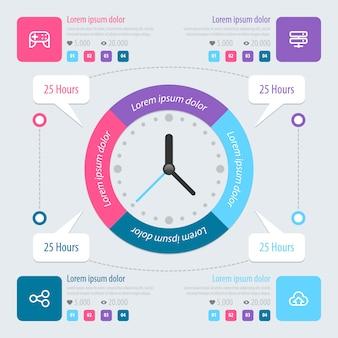 Infografik design.