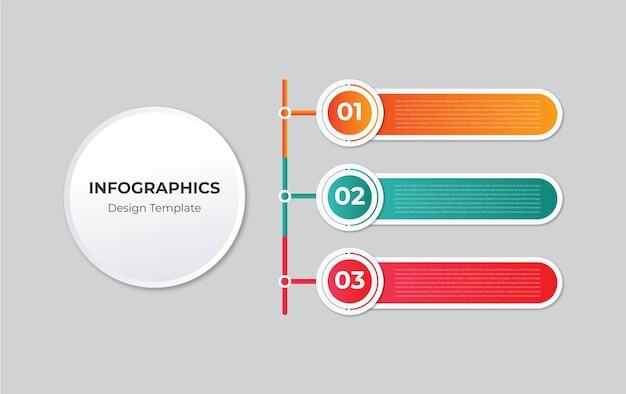 Infografik-element-set-design-vektor Premium Vektoren