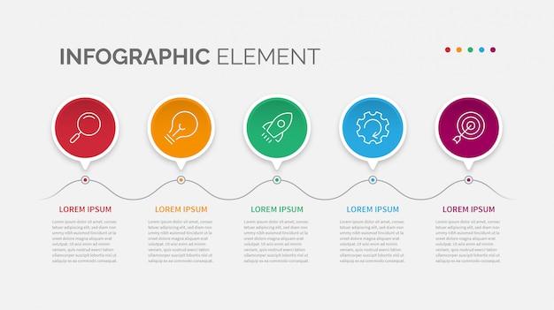 Infografik-element
