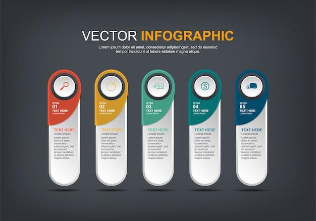 Infografik-elemente entwerfen