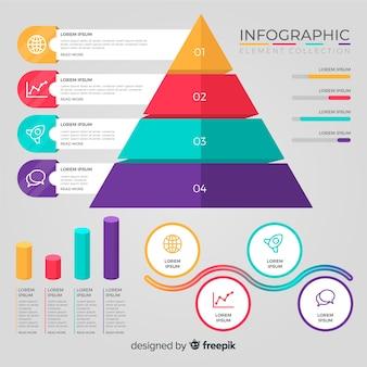 Infografik-elementsammlung