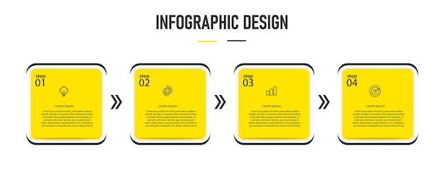 Infografik geschäftsnummer vorlage design