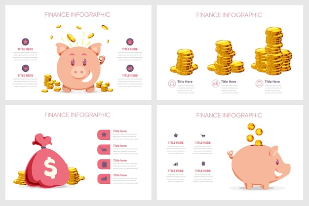 Infografik-konzept finanzieren