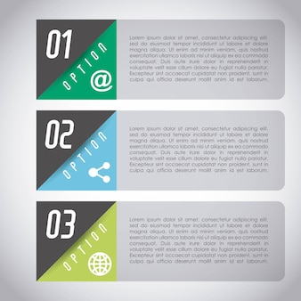 Infografik konzeptdesign