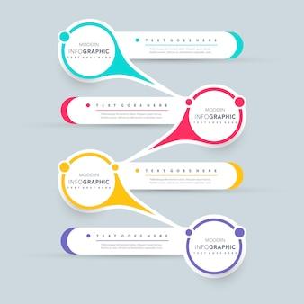 Infografik-präsentationsdesign