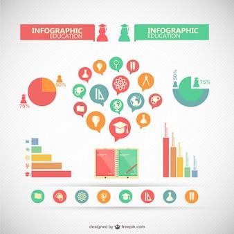 Infografik sammlung von elementen